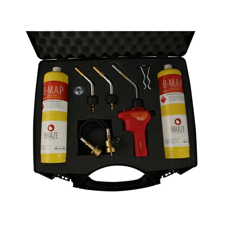 B-Braze® Kit 1 per  Saldobrasatura in valigetta (T° fiamma fino a 3.100°C/5.612 °F)