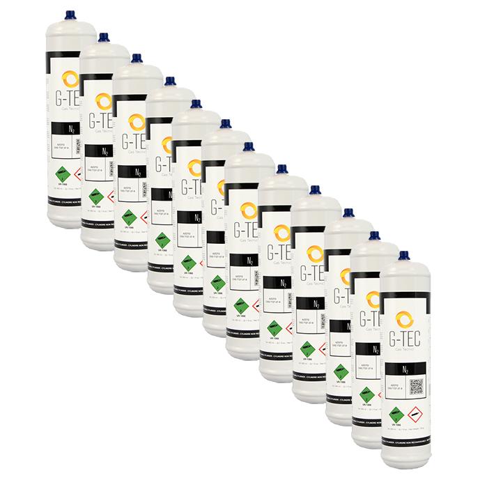 Bombola Azoto G-NITROGEN da 0,95 litri. / 0,105 mc (105 litri) - confezione 12 pezzi