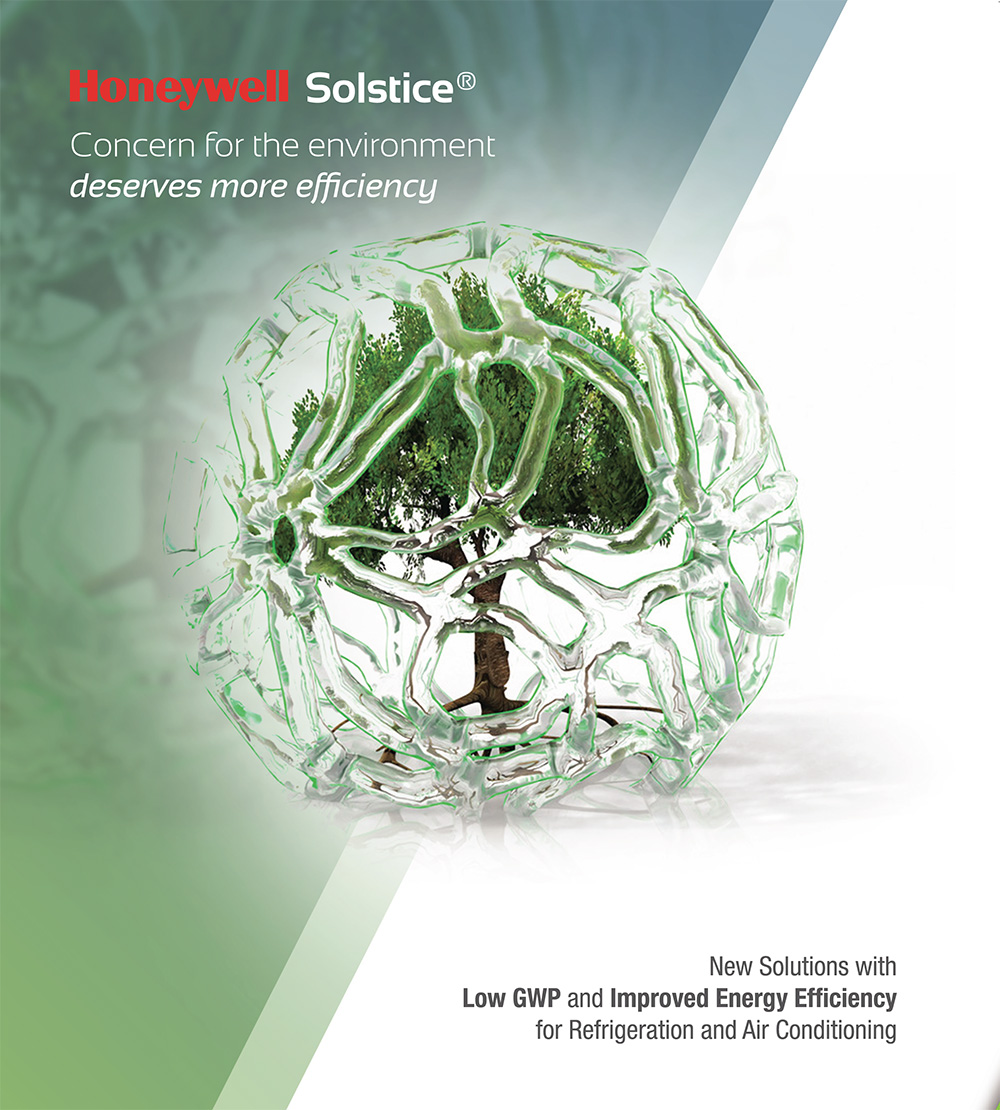 Solstice® N40 (R448A), HFO based low GWP drop-in for R404A claims 2,000 installations