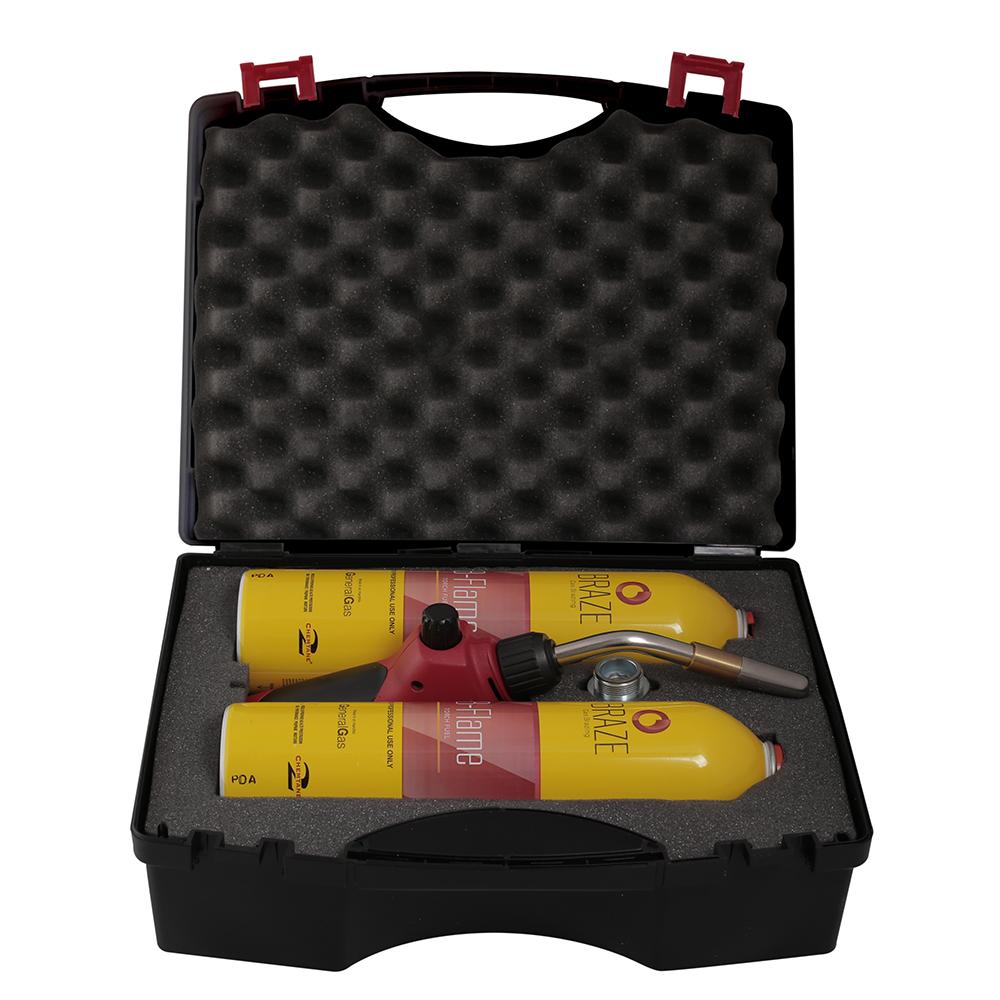 B-Braze® Kit 2 LIGHT per Saldobrasatura in valigetta (T° fiamma fino a 2.900°C/5.250 °F)
